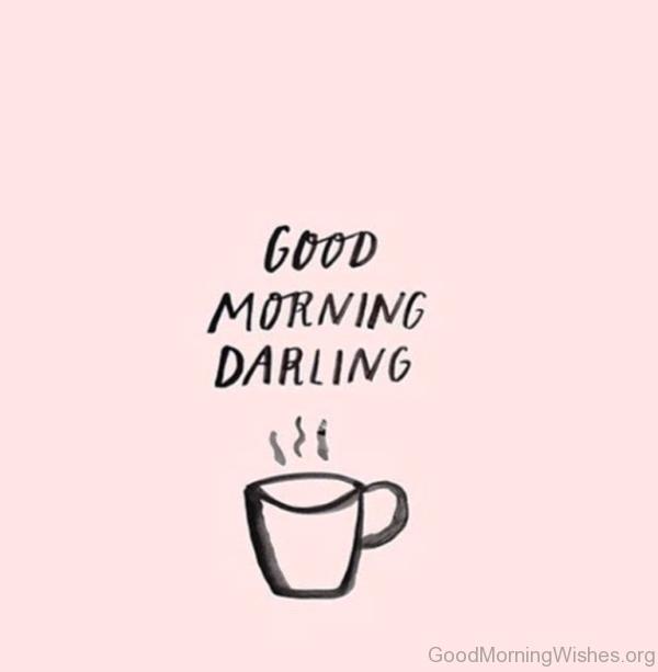 Simple Pic Of Good Morning Darling