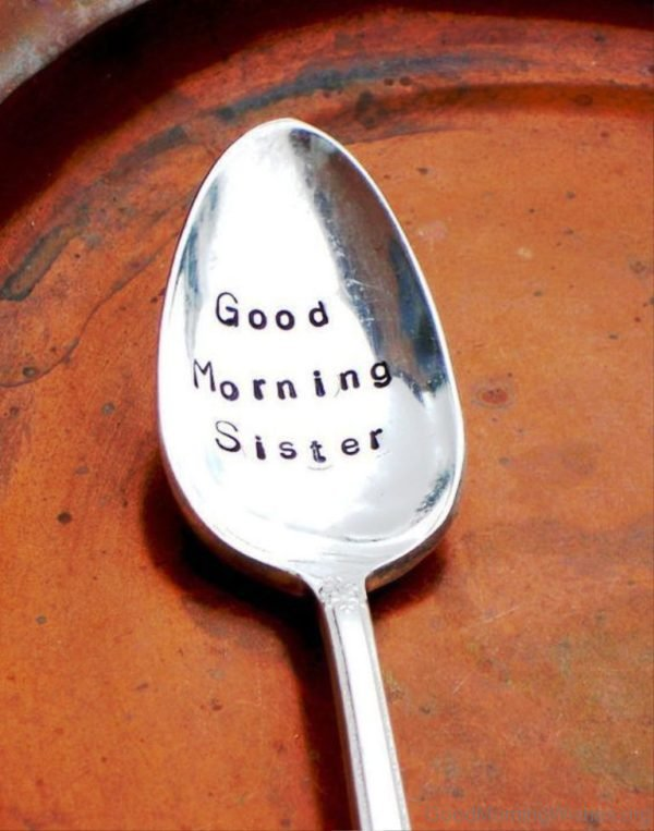 Simple Pic Of Good Morning Sister