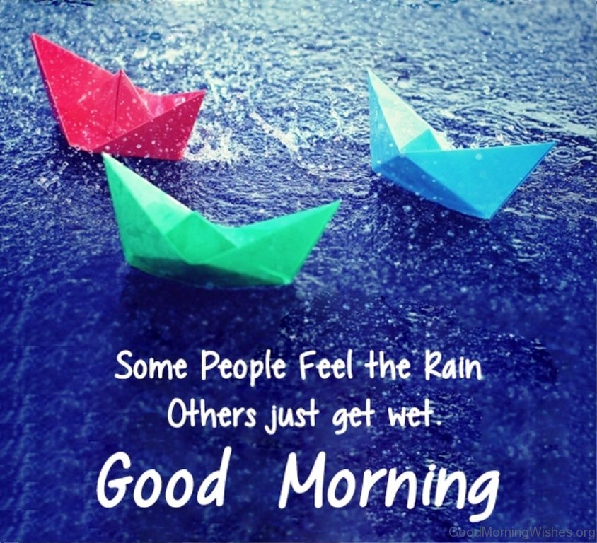 16 Good Morning Wishes For A Rainy Day
