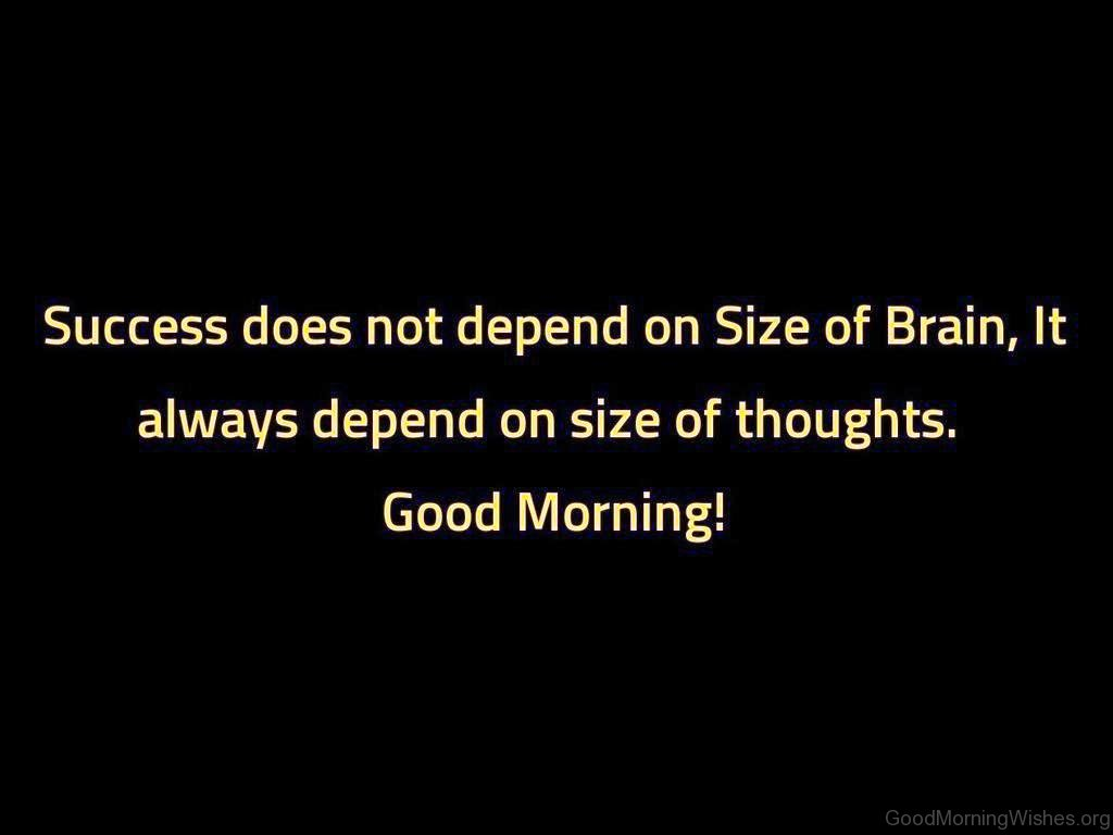 Quotes Success 14 Good Morning Success Quotes