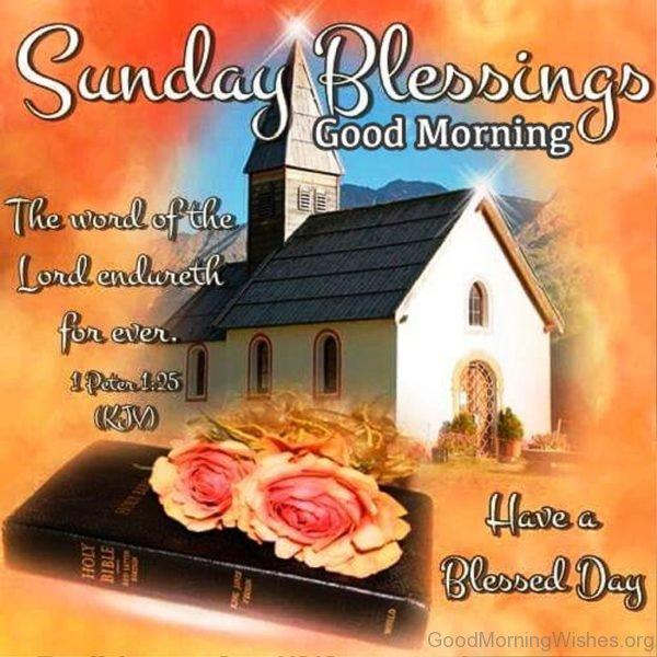 Sunday Blessings Good Morning