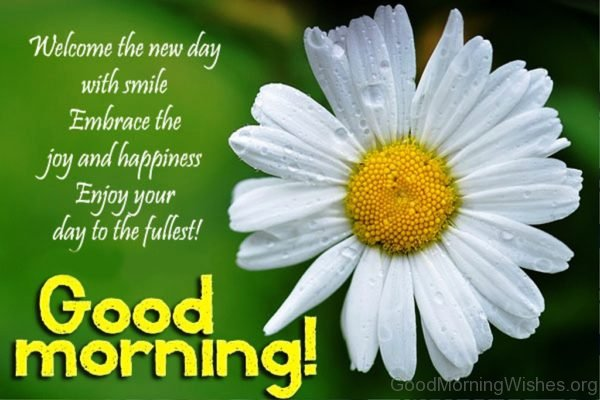 Welcome The New Day With Smile