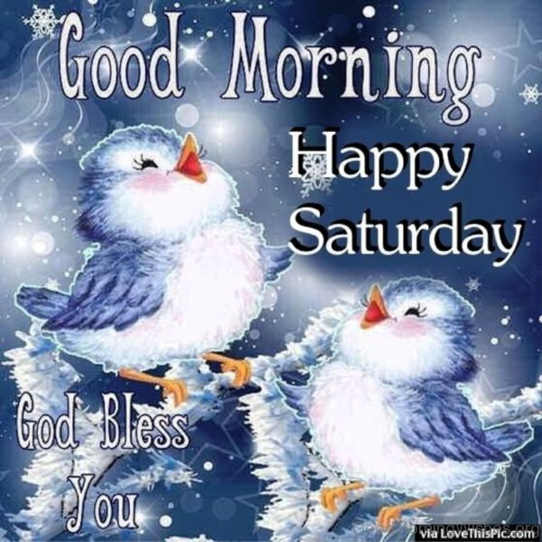 Winter Good Morning Saturday Quote