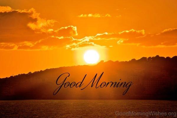 Wonderful Pic Of Good Morning Sunrise
