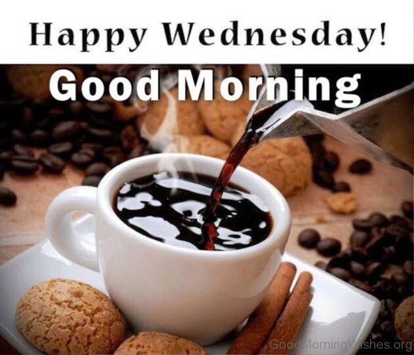 Happy wednesday good morning image